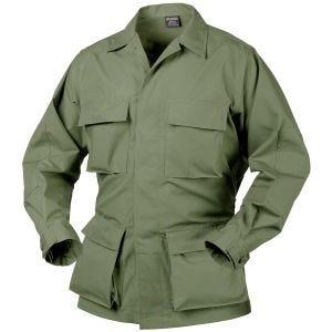 Helikon Véritable chemise BDU en polycoton Ripstop vert olive