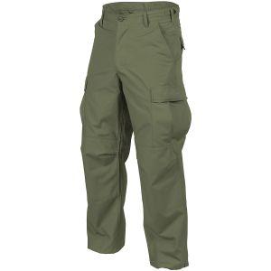 Helikon Pantalon en coton Ripstop BDU Olive Green