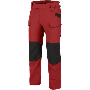 Helikon Pantalon tactique Outdoor Crimson Sky/noir