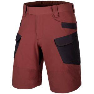 "Helikon Short tactique Outdoor 11"" en tissu VersaStretch Lite Crimson Sky / Black"