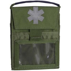 Helikon Trousse de secours de poche Pocket Med Insert Olive Green