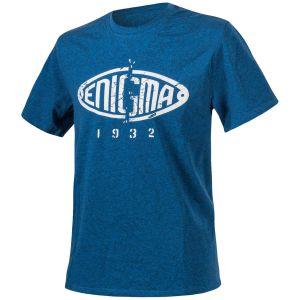 Helikon T-shirt Enigma chiné bleu