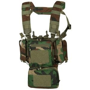 Helikon Gilet de combat Training Mini Rig US Woodland