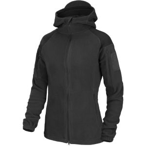 Helikon Womens Cumulus Heavy Fleece Jacket Black