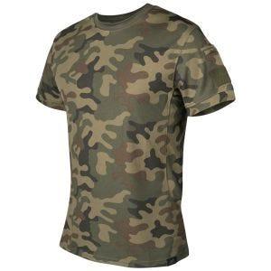 Helikon T-shirt tactique PL Woodland