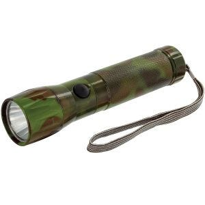 Highlander Lampe torche en aluminium LED 1 W Camo