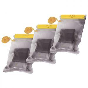 Highlander Lot de 3 pochettes étanches en PVC