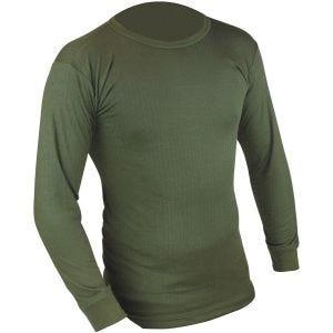 Highlander Maillot de corps thermique à manches longues vert olive