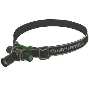 Highlander Lampe frontale Focus LED 3 W noire/vert olive