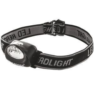 Highlander Lampe frontale Fornax 5 LED noire