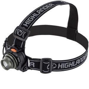 Highlander Lampe frontale à détecteur de mouvement Wave LED 3 W Cree