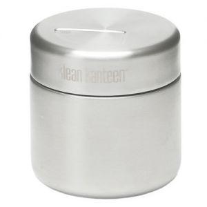 Klean Kanteen Boîte à aliments 237 ml à paroi simple en acier inoxydable brossé