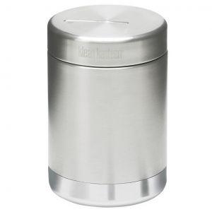 Klean Kanteen Boîte à aliments 473 ml isolante sous vide en acier inoxydable brossé