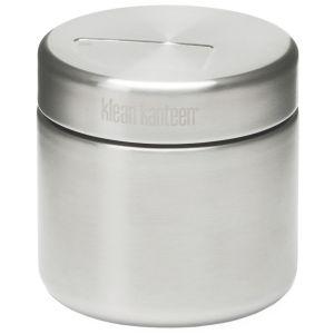 Klean Kanteen Boîte à aliments 473 ml à paroi simple en acier inoxydable brossé