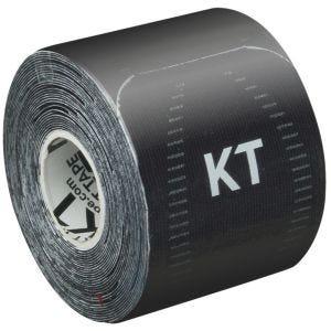 """KT Tape Bandage adhésif thérapeutique Consumer Synthetic Pro prédécoupé 10"""" Jet Black"""