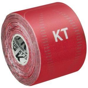 """KT Tape Bandage adhésif thérapeutique Consumer Synthetic Pro prédécoupé 10"""" Rage Red"""