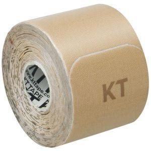 """KT Tape Bandage adhésif thérapeutique Consumer Cotton Original prédécoupé/doux pour la peau 10"""" beige"""