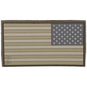 Maxpedition Écusson drapeau des États-Unis inversé grande taille (Arid)