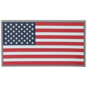 Maxpedition Écusson drapeau des États-Unis grande taille (couleur)