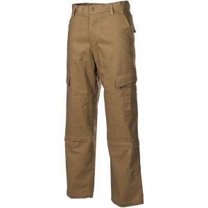 MFH ACU Pantalon de combat en Ripstop Coyote Tan
