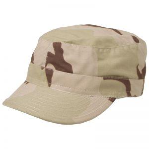 MFH BDU Casquette militaire en Ripstop Desert tricolore