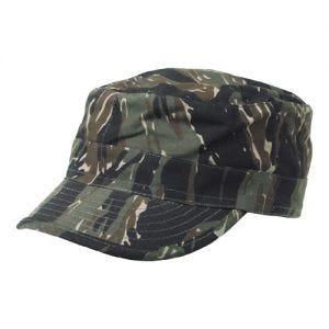 MFH BDU Casquette militaire en Ripstop Tiger Stripe