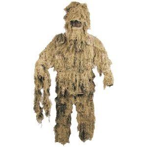 MFH Ghillie suit Camouflage Digital Desert