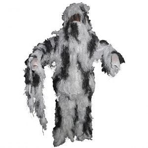 MFH Ghillie suit Camouflage Snow