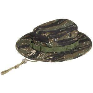 MFH Chapeau de brousse GI en Ripstop Tiger Stripe