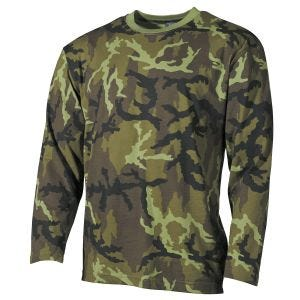MFH T-shirt à manches longues Czech Woodland