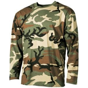 MFH T-shirt à manches longues Woodland
