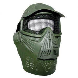 MFH Masque de protection visuelle pour paintball vert olive