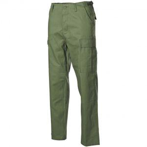 MFH BDU Pantalon de combat en Ripstop vert olive