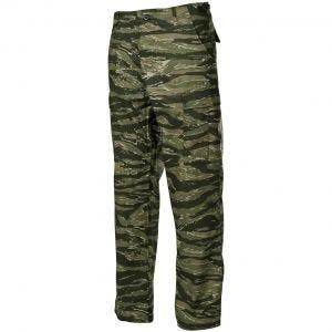 MFH BDU Pantalon de combat en Ripstop Tiger Stripe