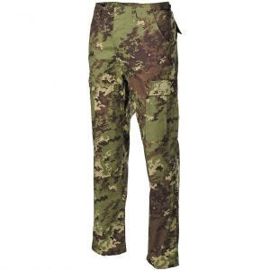 MFH BDU Pantalon de combat en Ripstop Vegetato Woodland