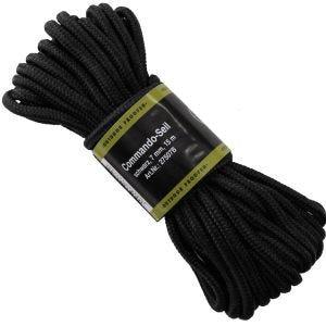 MFH Corde de 7 mm noire