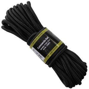 MFH Corde de 9 mm noire