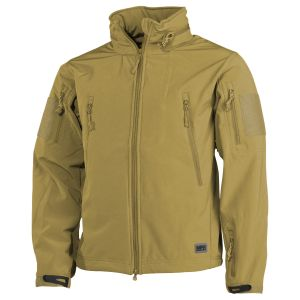 MFH Veste Softshell Scorpion Coyote Tan