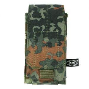 MFH Porte-chargeur simple MOLLE pour M4/M16 Flecktarn
