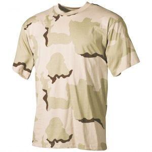 MFH T-shirt Desert tricolore
