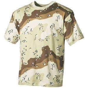 MFH T-shirt Desert à 6 couleurs