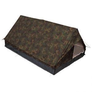 MFH Tente 2 personnes Minipack avec moustiquaire Woodland