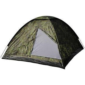 MFH Tente 3 personnes Monodom avec moustiquaire Czech Woodland