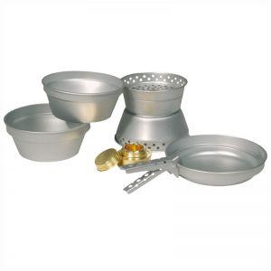 Mil-Tec Set de cuisine en aluminium