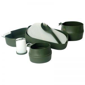 Wildo Boîte repas Camp-A-Box vert olive