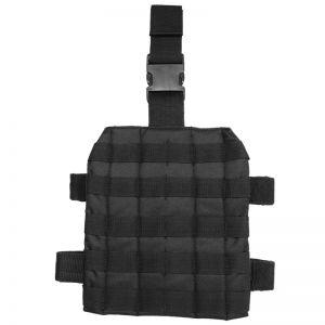 Mil-Tec Plateforme de cuisse MOLLE noire