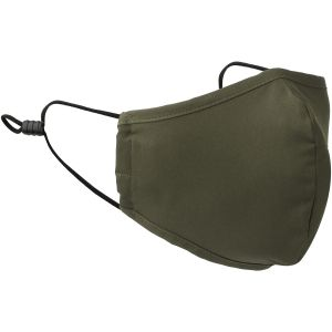 Mil-Tec Mouth/Nose Cover Wide Shape Elastic Olive