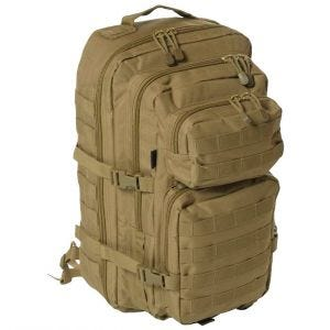 Mil-Tec Sac à dos Assault One Strap grande taille Coyote