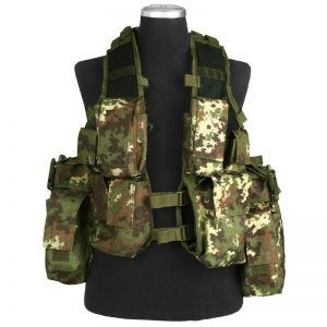Mil-Tec Gilet tactique sud-africain Vegetato Woodland