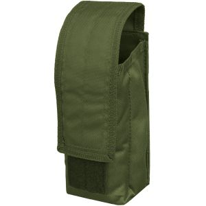 Mil-Tec Porte-chargeur simple MOLLE pour AK47 vert olive